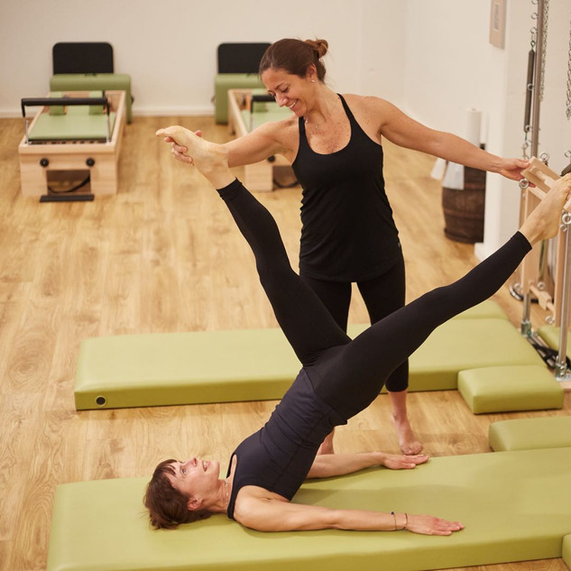 pilates bridge balance