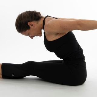 pilates mat roll up stretch
