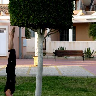 yoga headstand balance