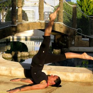 pilates mat control balance