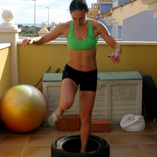fitness jump balance