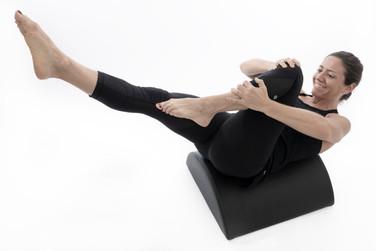 Ana Pernas barrel pilates core