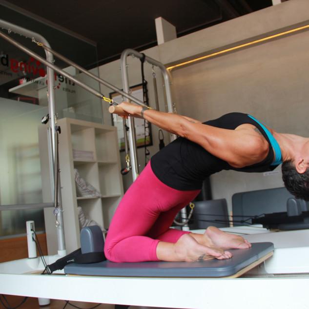 reformer backbend pilates advanced