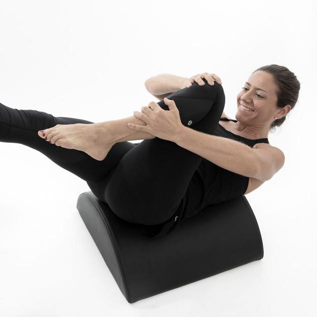 pilates barrel corework balance