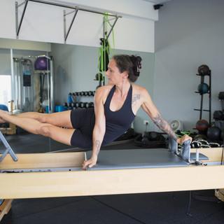 Lisa Jones Pilates Reformer snake