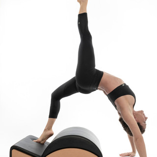 yoga pilates backbend barrel