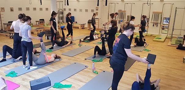 pilates teacher training mat