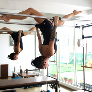 pilates hanging trapeze table advanced