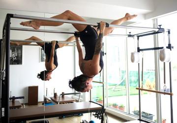 Lisa Jones Trapeze Table pilates walkover