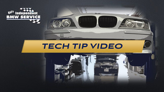TECH TIP VIDEO EDS BMW SERVICE
