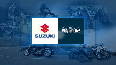 SUZUKI MOTORCYCLE LOGO SLIDE
