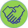DONATE HANDS icon.