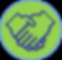DONATE HANDS icon.