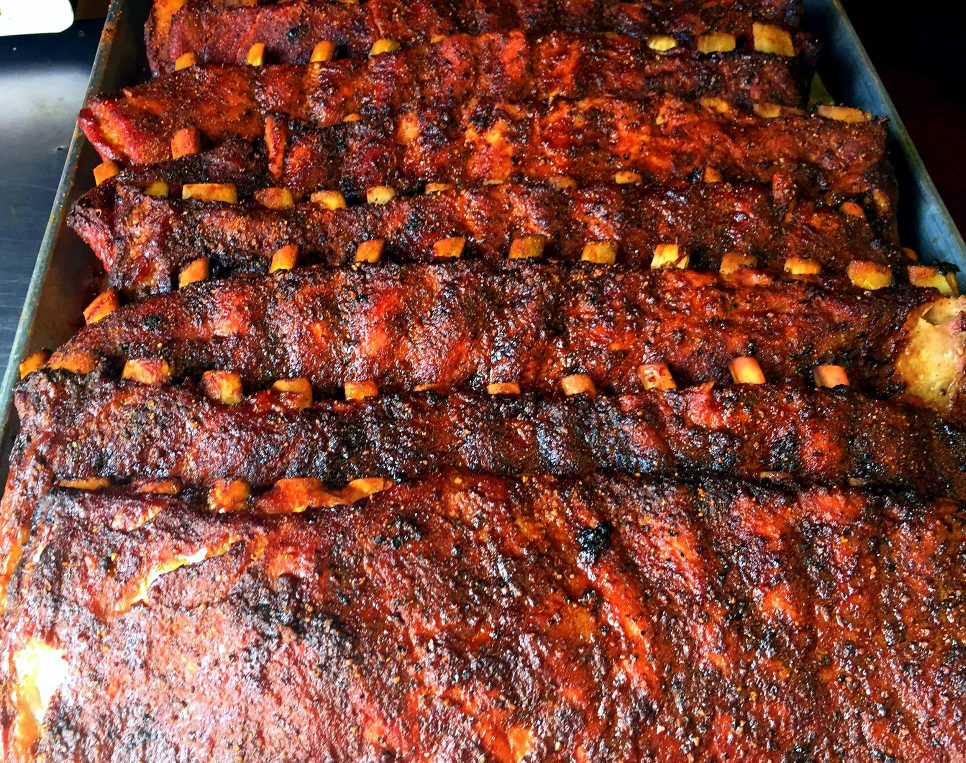 Tray of Ribs