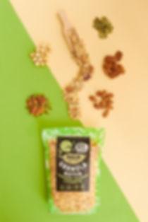 Holie granola noten, Holie granola nuts and seeds