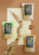 Holie granola noten, Holie granola zaden & pitten, Holie granola kokos & cacao nibs