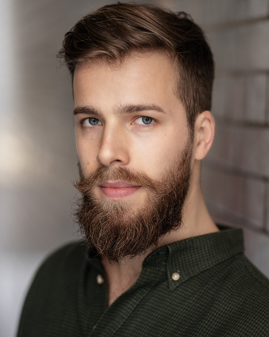 Matthew Churcher headshot, with beard