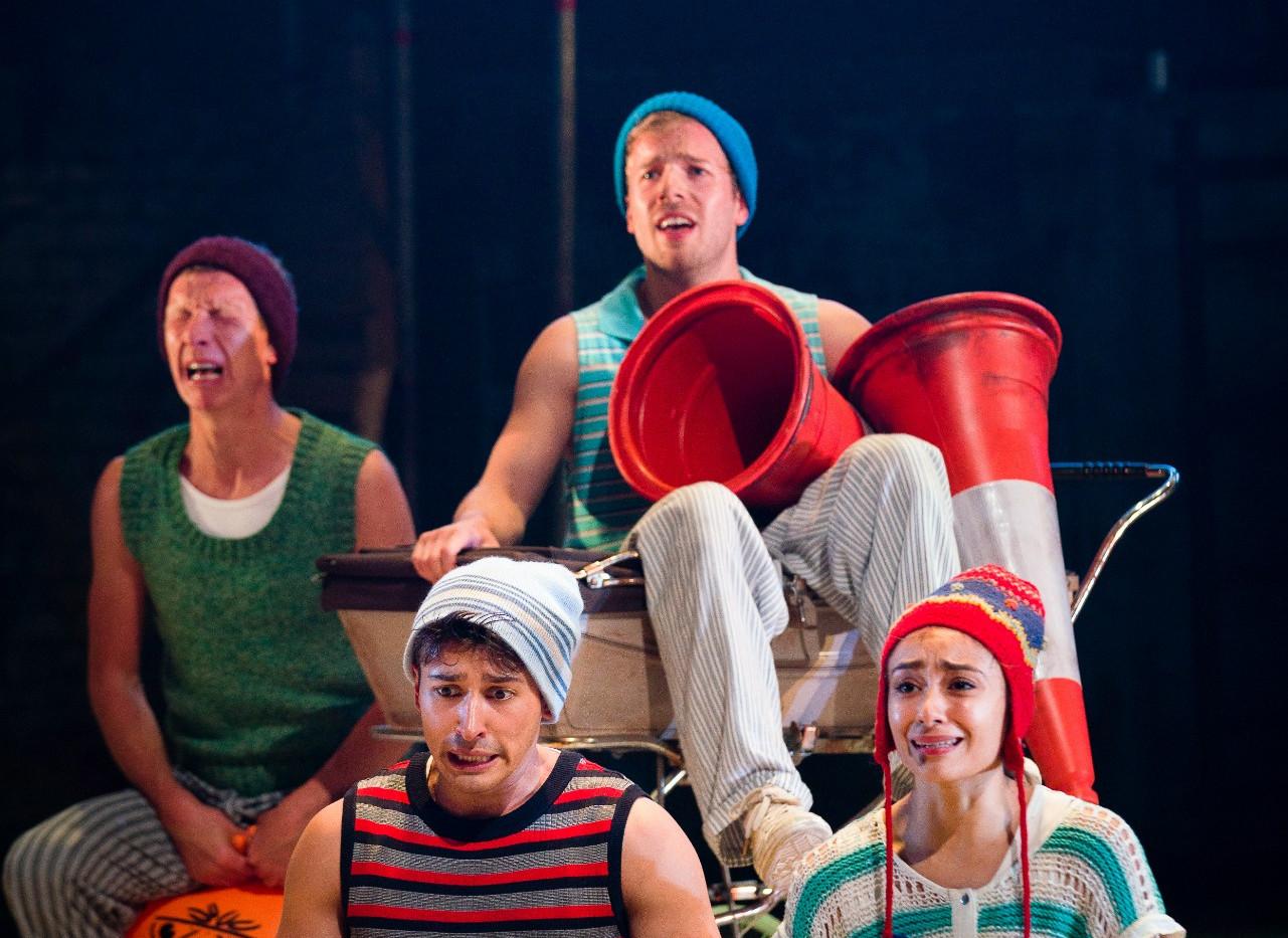 Peter Pan, National Theatre/Birstol Old Vic.  Matthew Churcher Photo credit: Steve Tanner