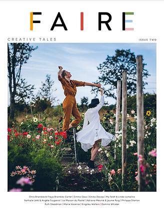 Couverture faire magazine Issue 2