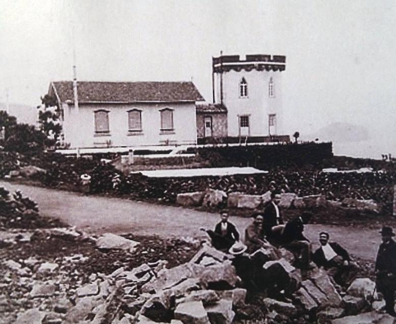 Residência de campo do Conselheiro Terra Pinheiro, freguesia do Capelo