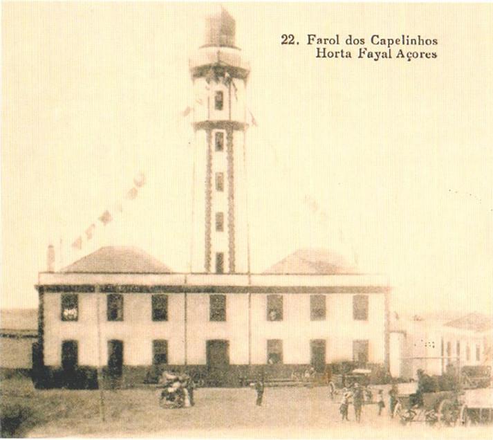 1 de Agosto de 1903 - Inauguração do Farol dos Capelinhos