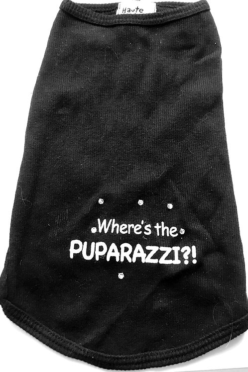 WHERE'S THE PUPARAZZI TANK TOP