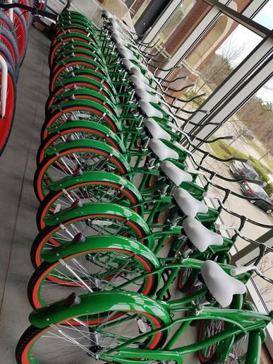 Custom Heineken Bikes