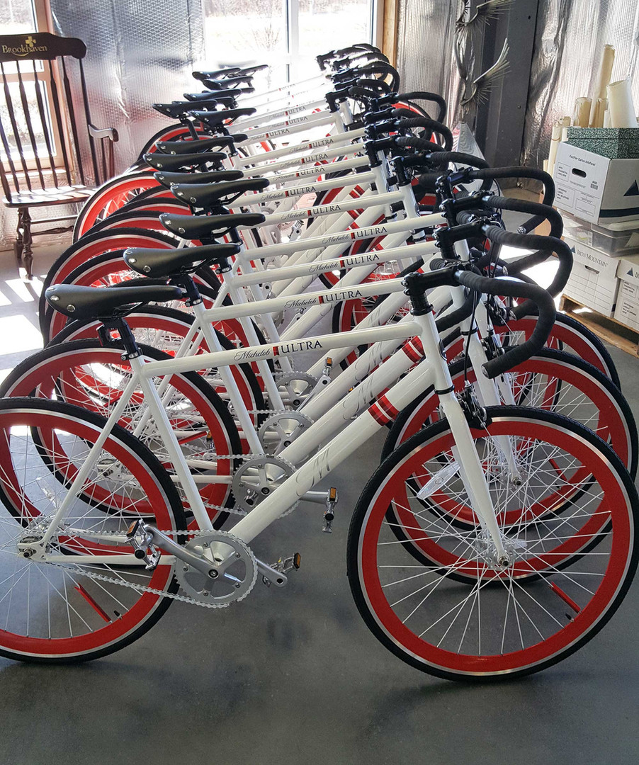 Custom Michelob Ultra Bikes