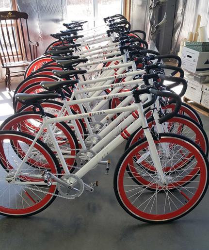 Custom Michelob Ultra Bikes