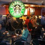 Coffee queues at Starbucks
