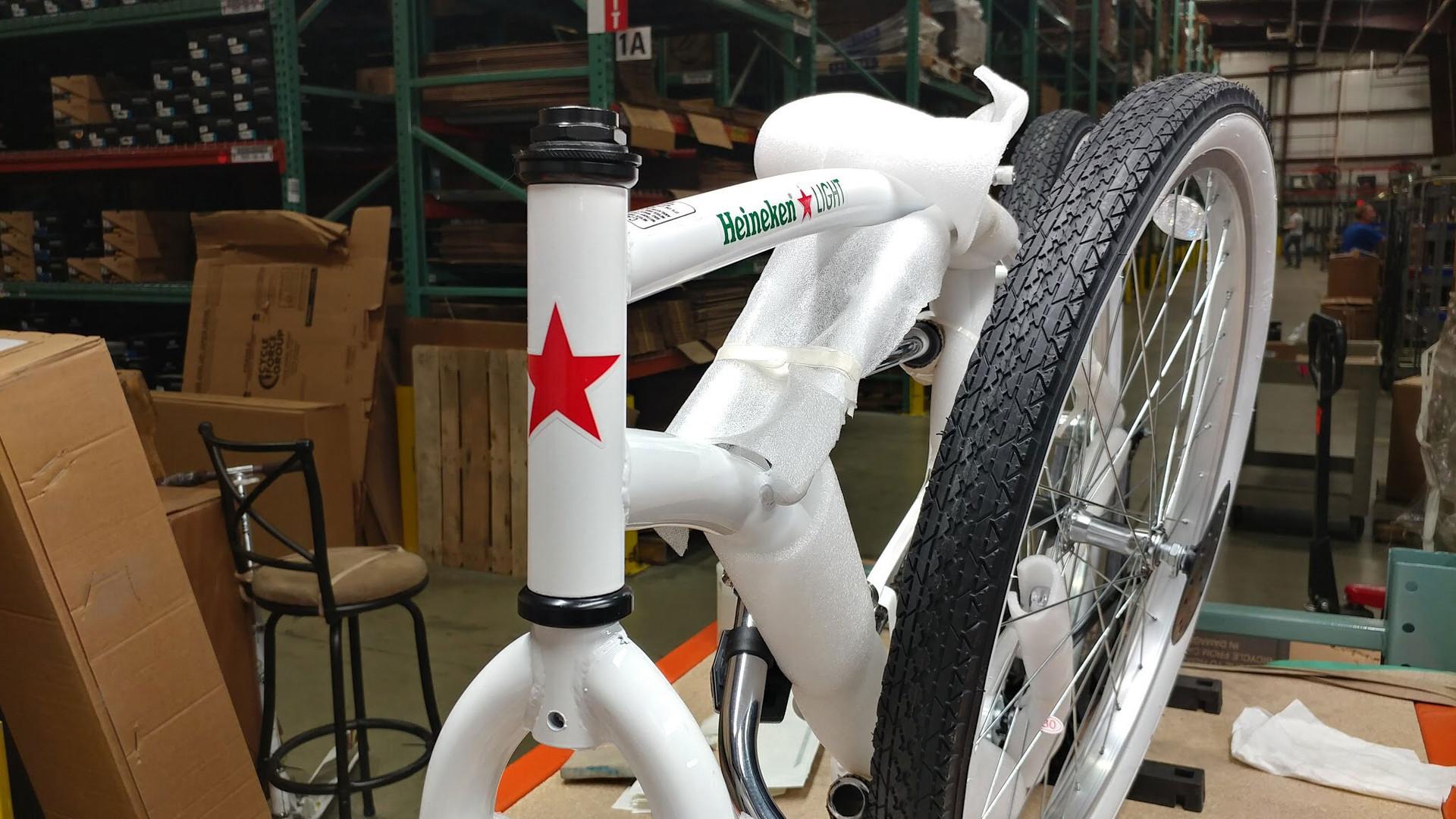 Custom Heineken Bike