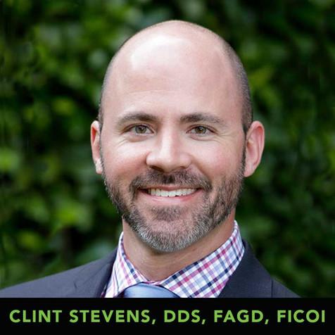 Clint Stevens, DDS, FAGD, FICOI
