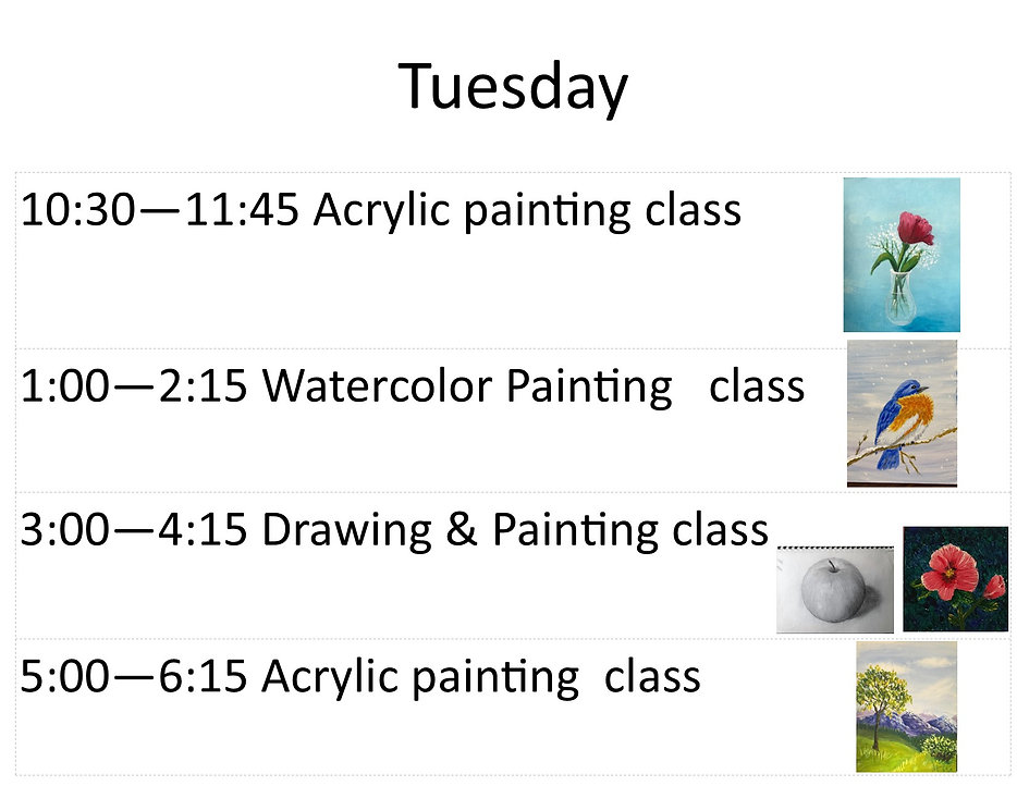 June Tuesday classes with pictures jpg.j
