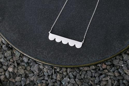 Misstache N.5 鬍子小姐 5 號 純銀項鍊 Silver Necklace