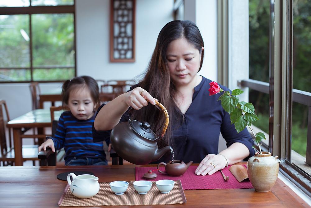 製茶師張欣柔