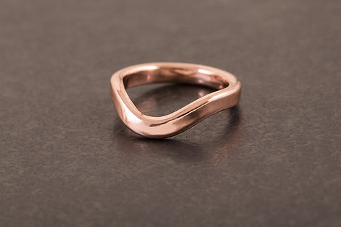 微風吹拂戒指  Breeze Curving Ring
