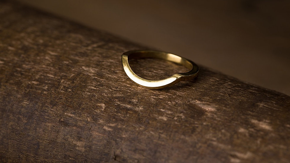 Eye-rolling & Stubborn 執拗與白眼 黃銅戒指 Brass Ring