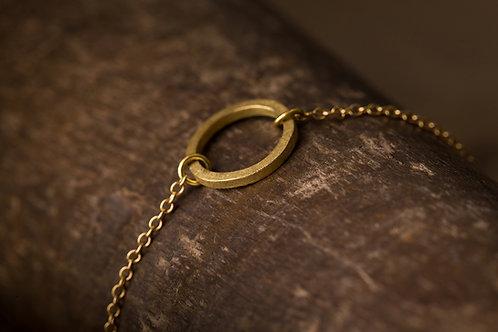 Circular 迴圈 - 手工 黃銅手鍊 Brass Bracelet
