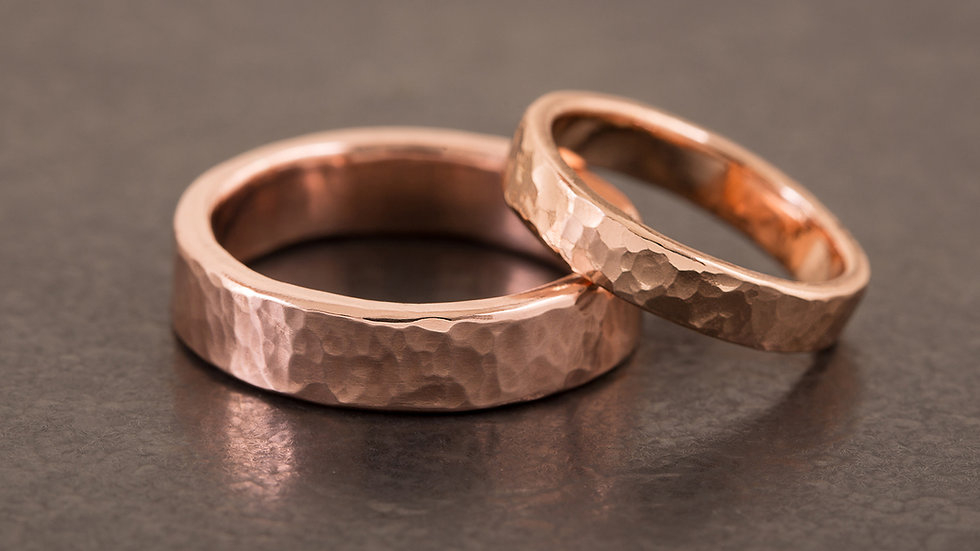 紅黃銅 對戒/婚戒雙人課程 (現場價格依款式/材質而異)