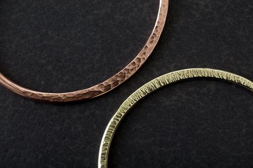 雙人手作銅質 手環 經典基本價
