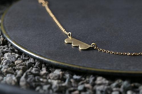 Misstache N.3 鬍子小姐 3 號 Brass Bracelet 手鍊 / 腳鏈 / 項鍊