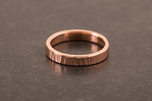 錘目樹紋 戒指 Hammered Head Ring