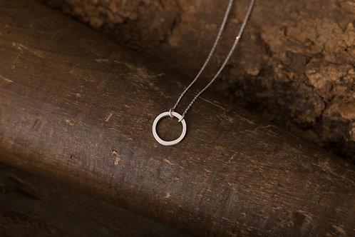 Circular 迴圈 - 純銀項鍊 Silver necklace