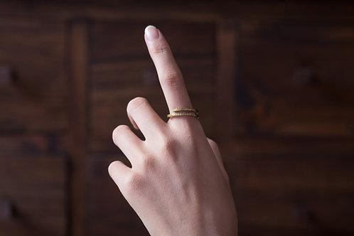 多圈式開放戒指 Open Ring