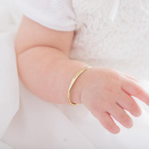 純金寶寶手環 新生命的禮物 Bébé Bangle Adjustable