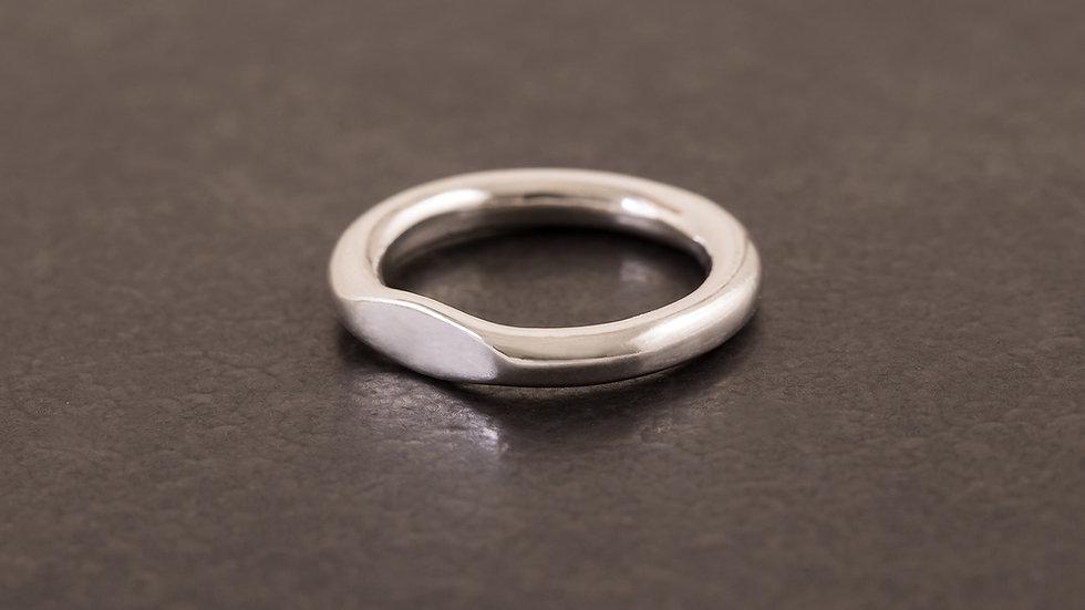 單目眼 純銀戒指  Eye Ring
