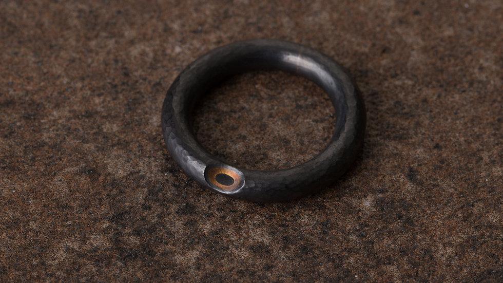 Reverse 逆物論戒環 Mokume-gane Ring