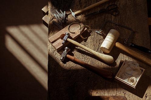 雙人手作銅質手環 經典基本價