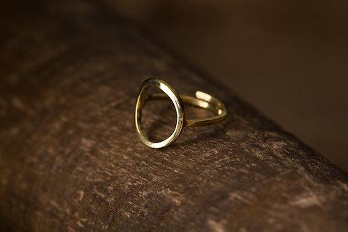 Circular 迴圈 -手工黃銅戒指 Brass Ring