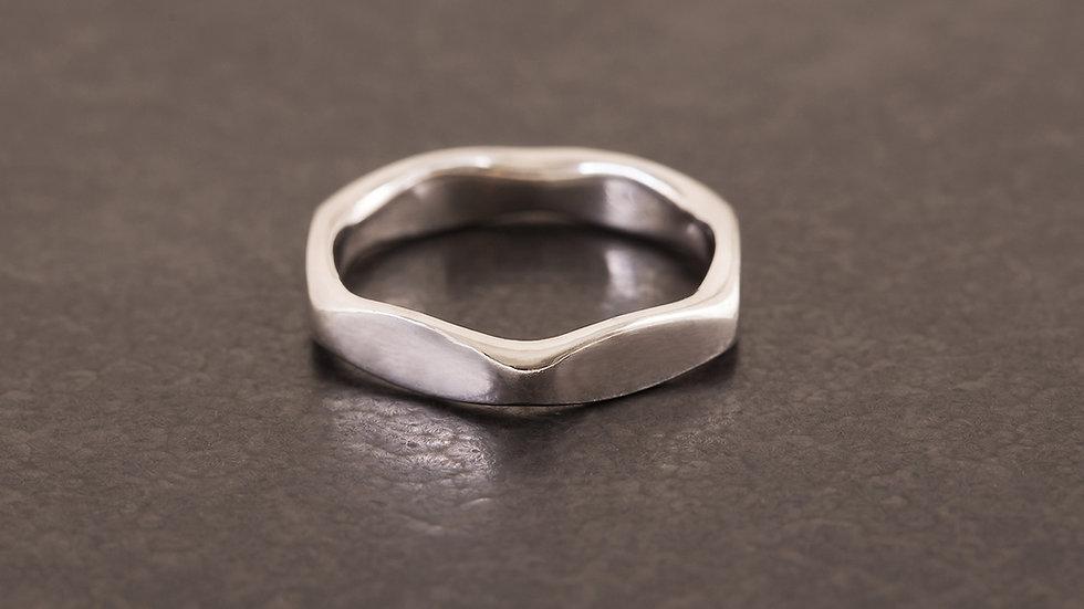 六角螺母 純銀戒指 Hexagon Ring